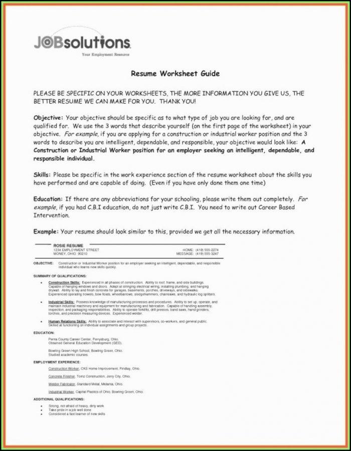 Quickfree Resume Builder Online