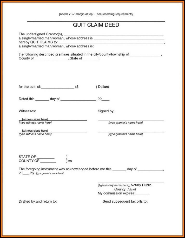 Quit Claim Deed Form Arizona Pdf