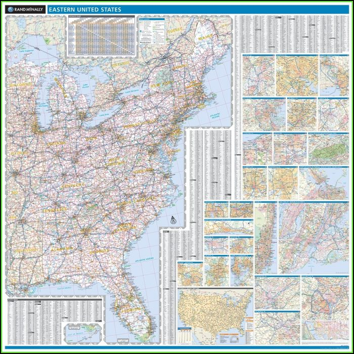 Rand Mcnally Eastern United States Map