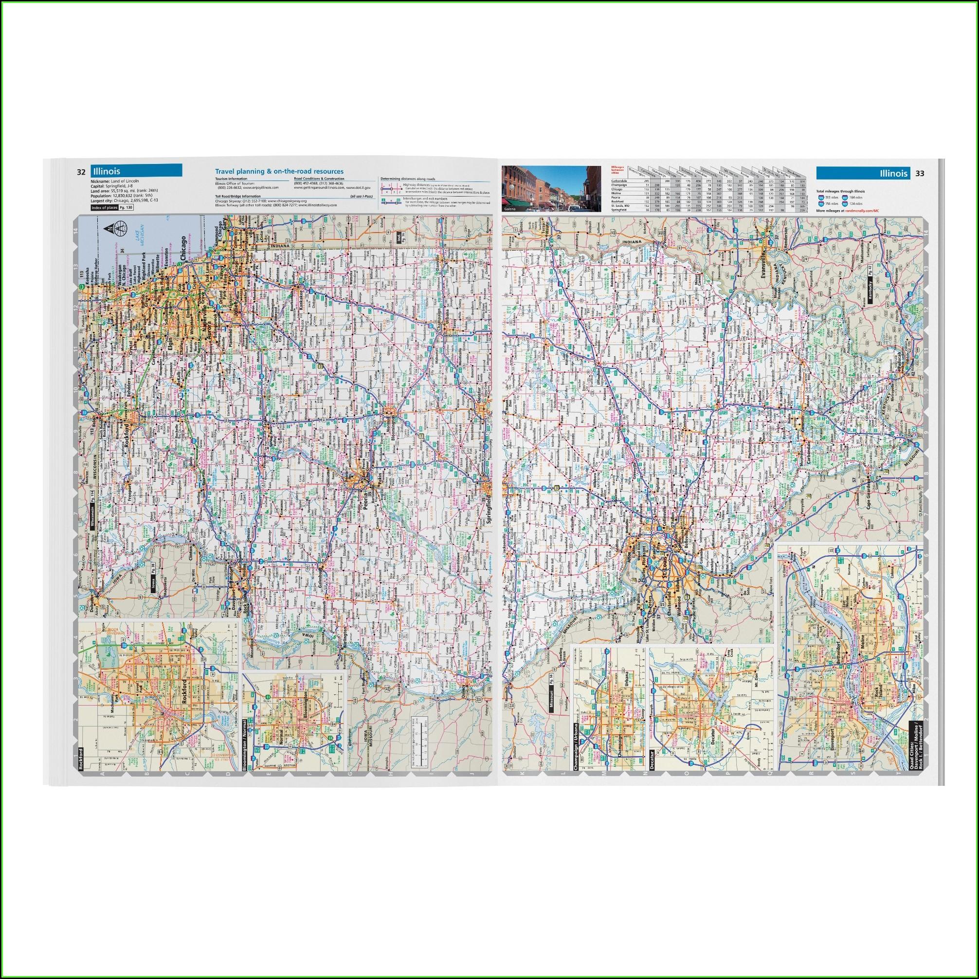 Rand Mcnally United States Interstate Map