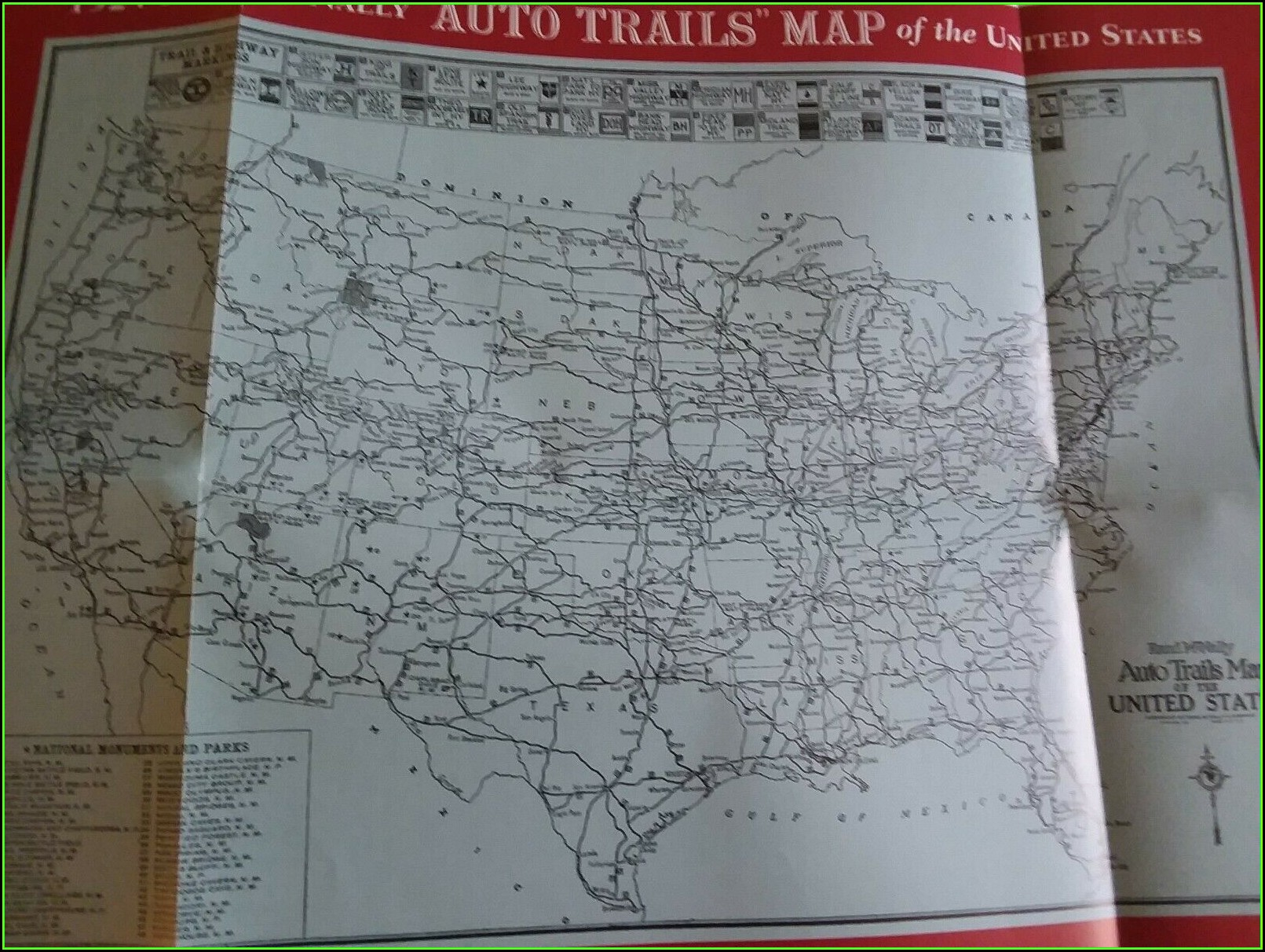 Rand Mcnally Us Highway Map