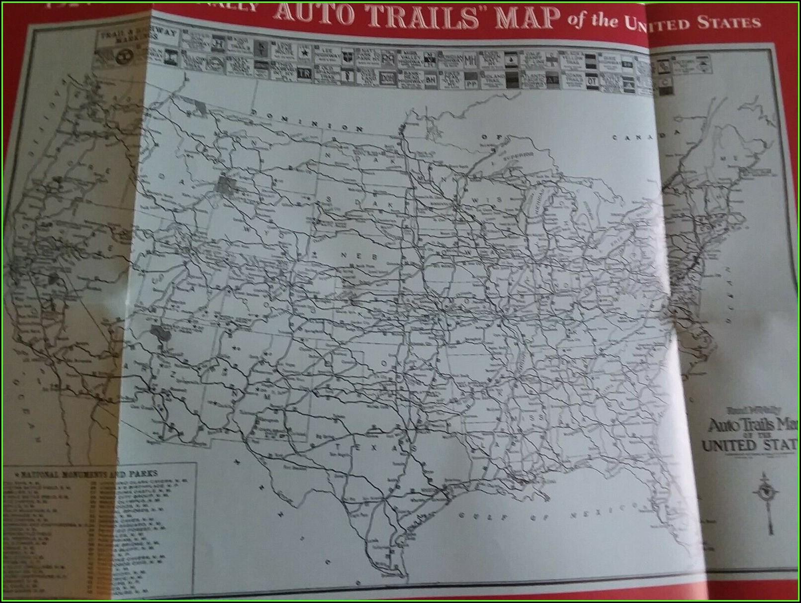 Rand Mcnally Us Highway Map
