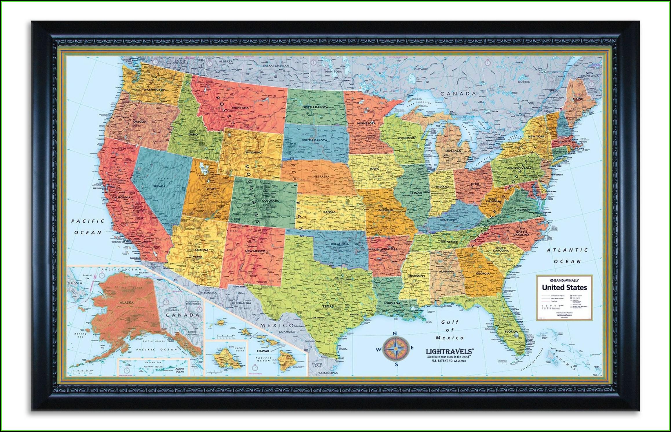 Rand Mcnally Us Map