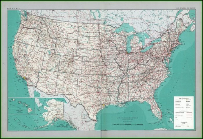 Rand Mcnally Us Road Map