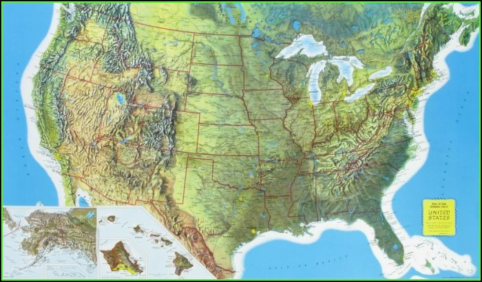Rand Mcnally Us State Maps