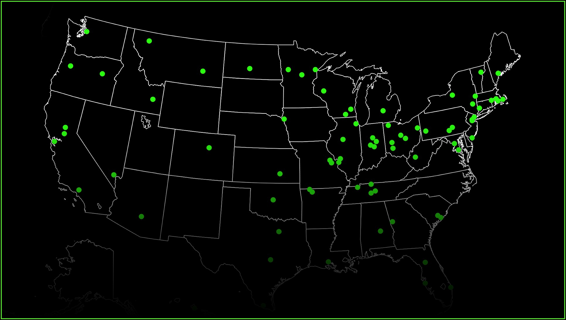 Ransomware Threat Map