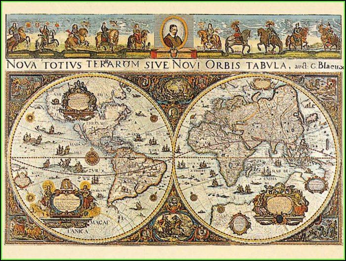 Ravensburger Antique World Map Puzzle