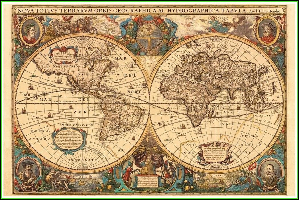 Ravensburger Jigsaw Puzzle 5000 Pieces Antique World Map