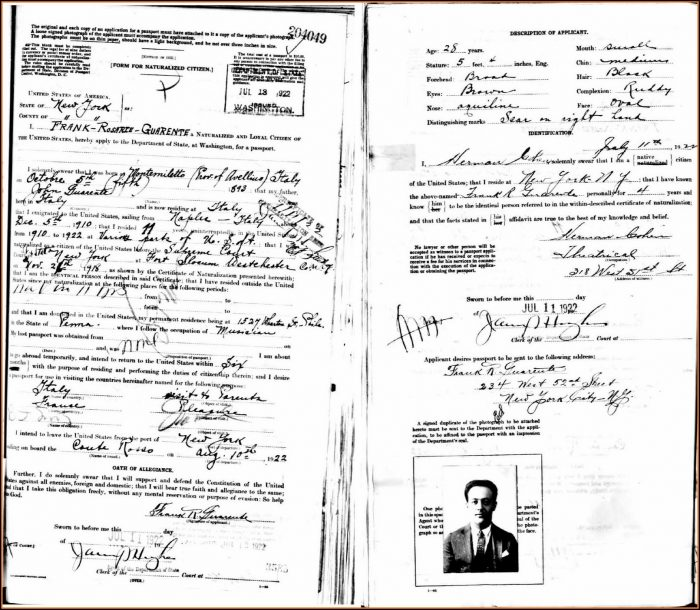 Renewal Passport Forms For Trinidad And Tobago