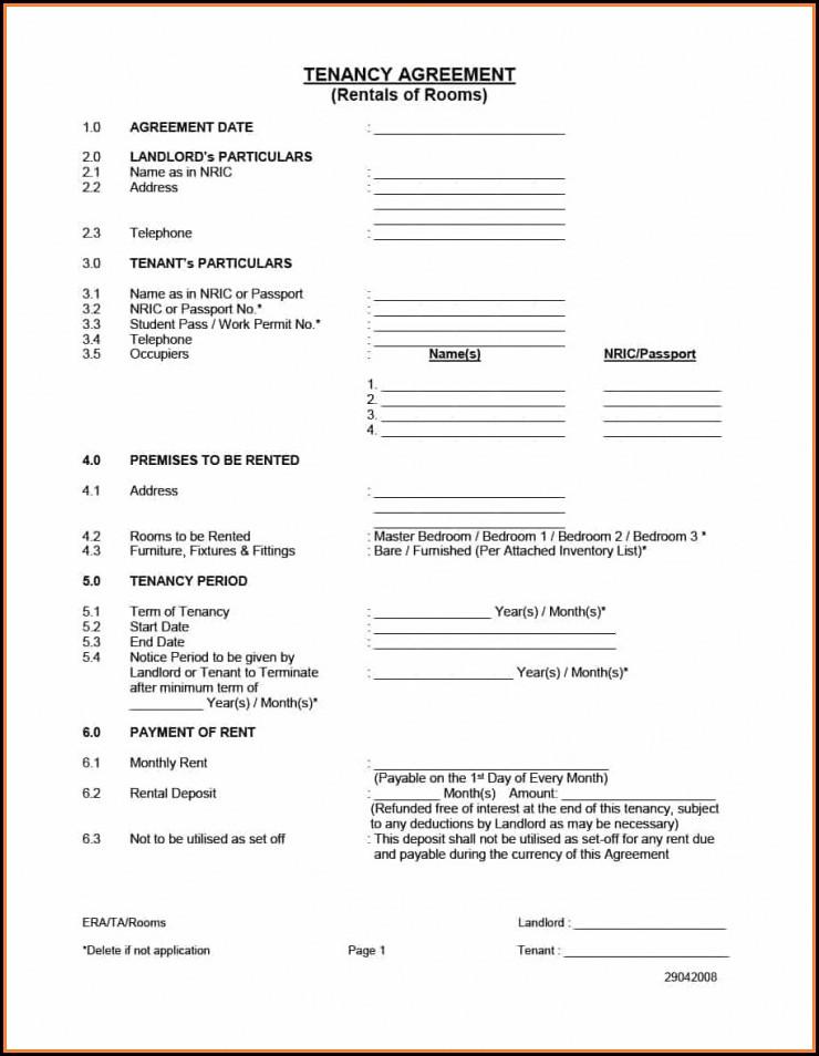 Rental Application Forms California