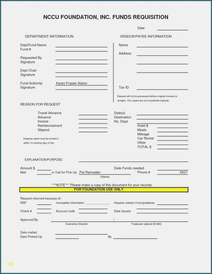Rental Invoice Template Pdf