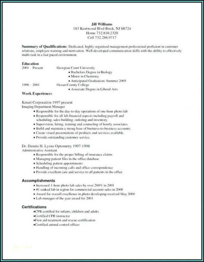 Resume For Medical Coding And Billing Entry Level