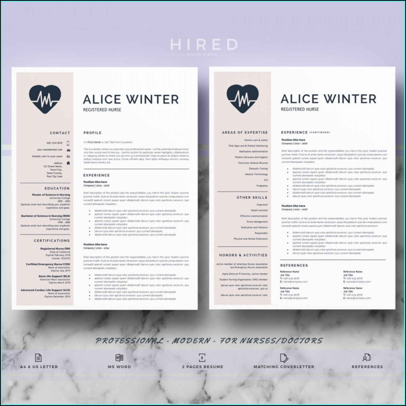 Resume Template For Nurse Practitioner