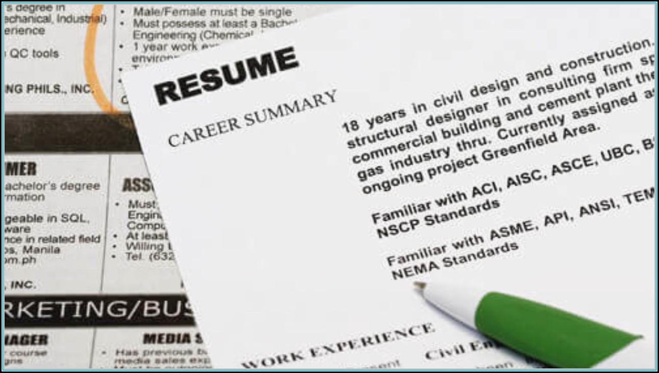 Resume Template Free Word 2017