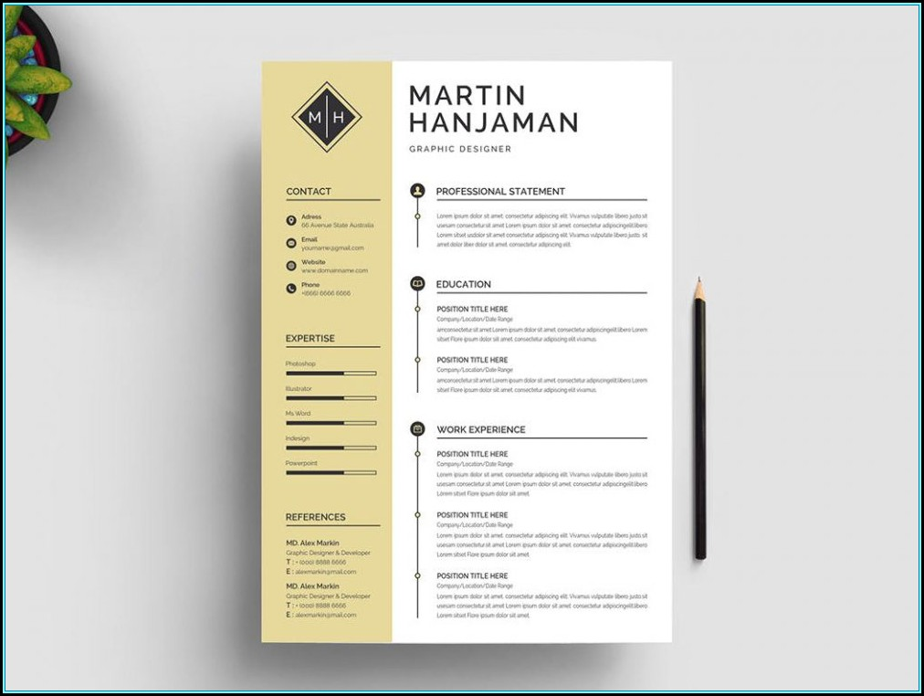 Resume Template Free Word Download