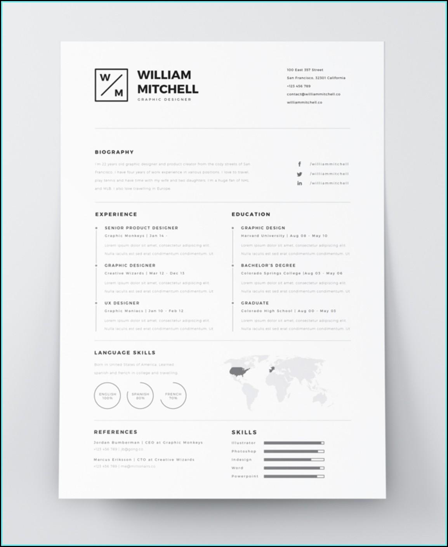 Resume Templates Creative Free Download