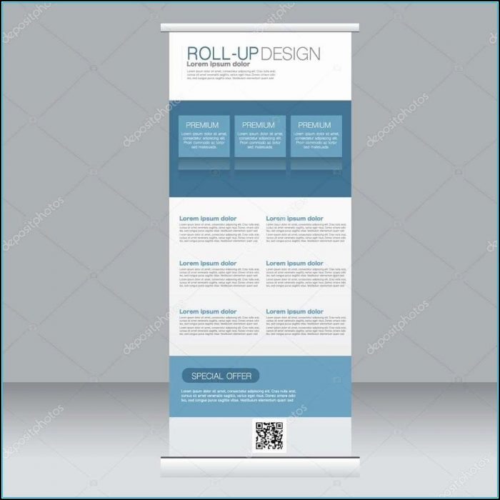 Retractable Banner Template Download