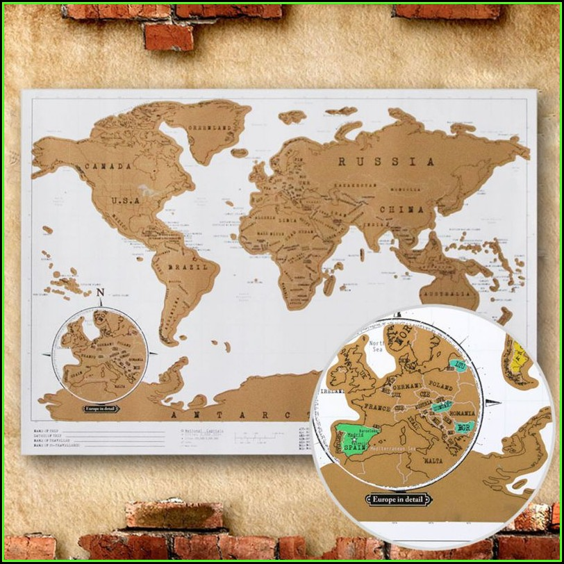 Scratch Map Europe Aliexpress