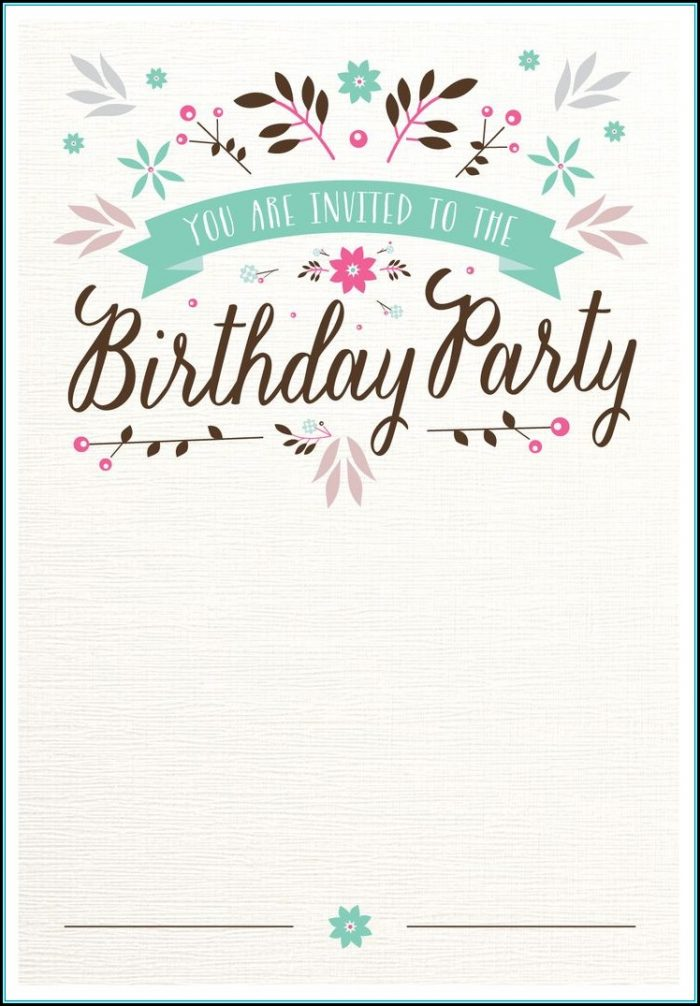 Shopkins Blank Invitation Template
