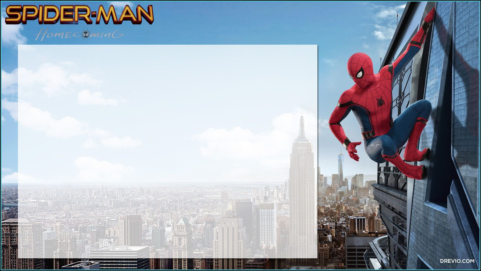Spiderman Party Invitation Template Free