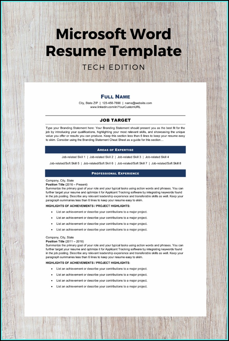 Technical Writing Resume Keywords