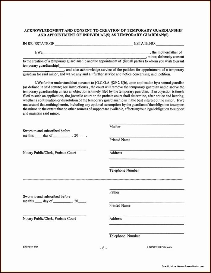 Texas Guardianship Forms Pdf