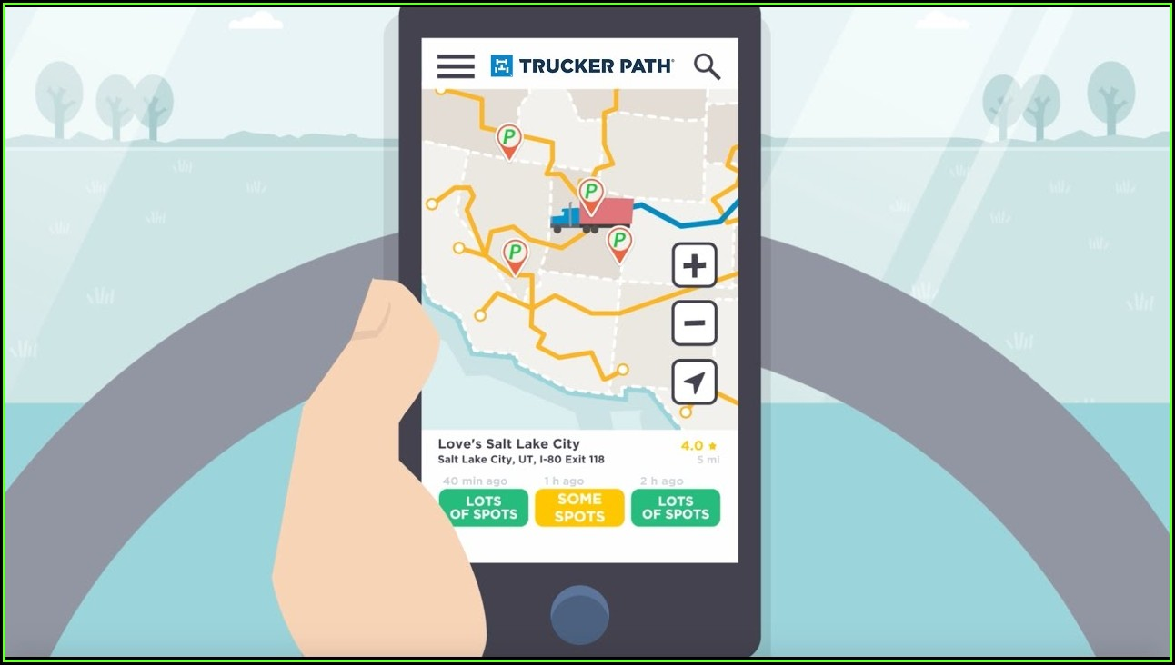 Trucker Road Map App