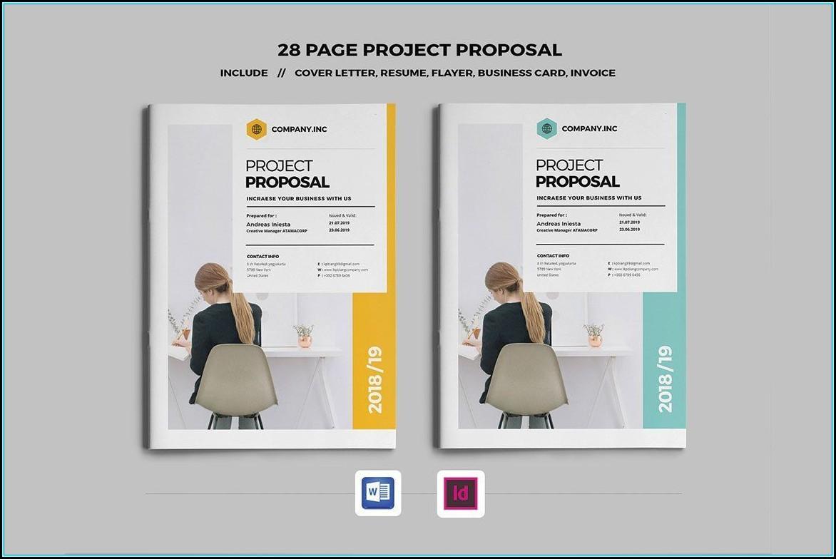 Web Design Proposal Template Indesign