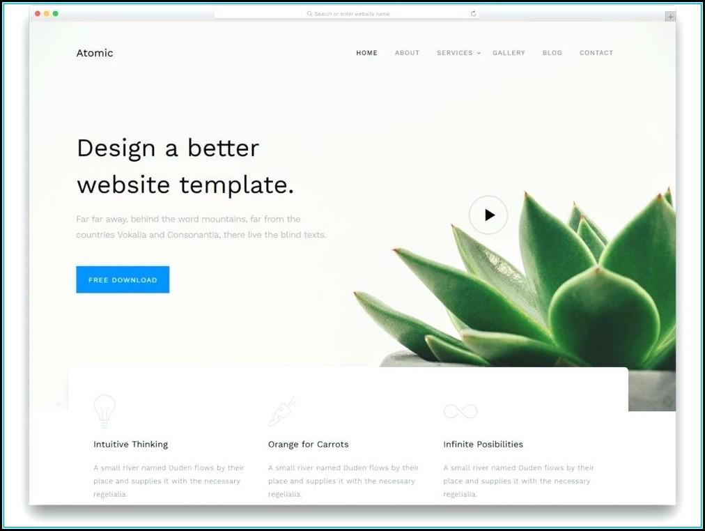Web Design Proposal Templates Free Download