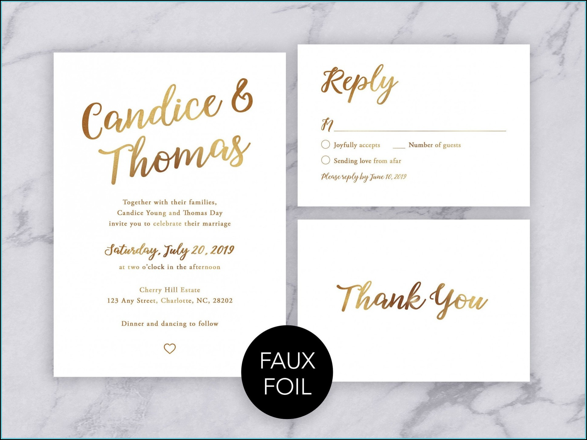 Wedding Invitation Format Download