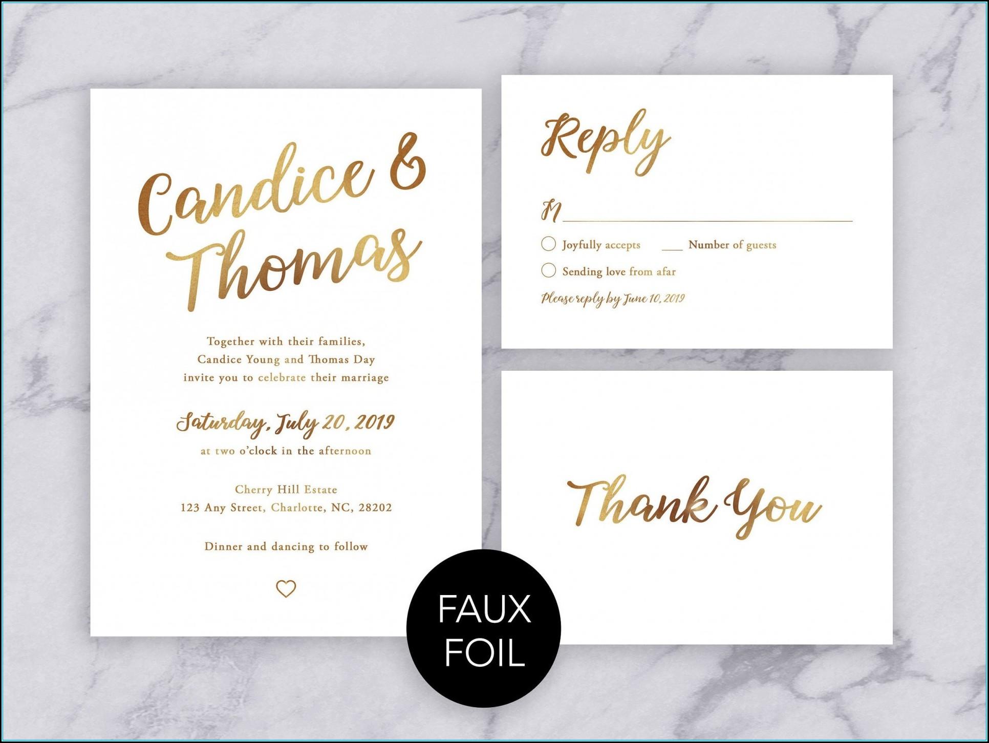 Wedding Invitation Format Download
