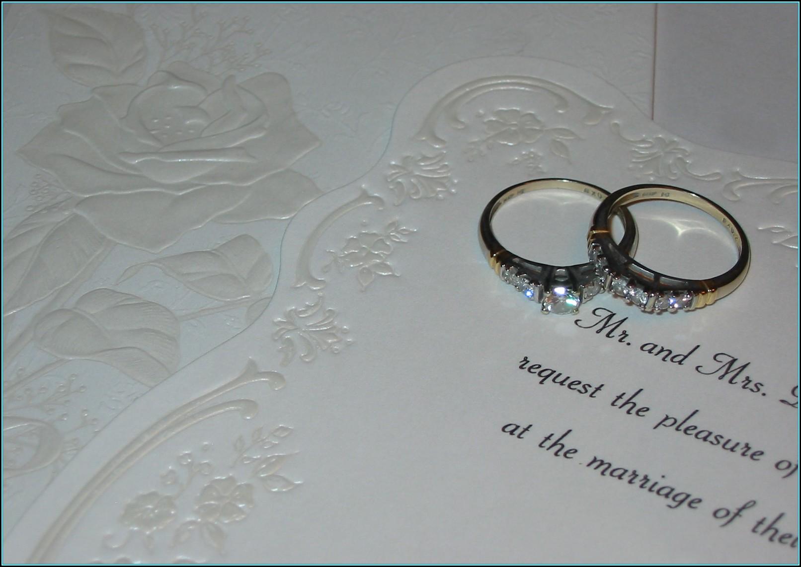 Wedding Invite Template Photoshop
