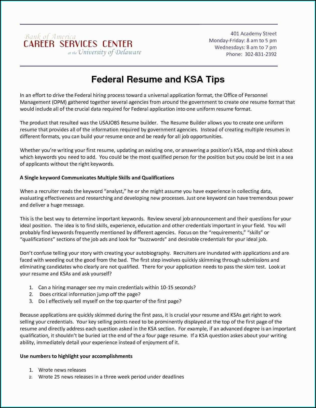 What Is The Best Federal Resume Writing Service