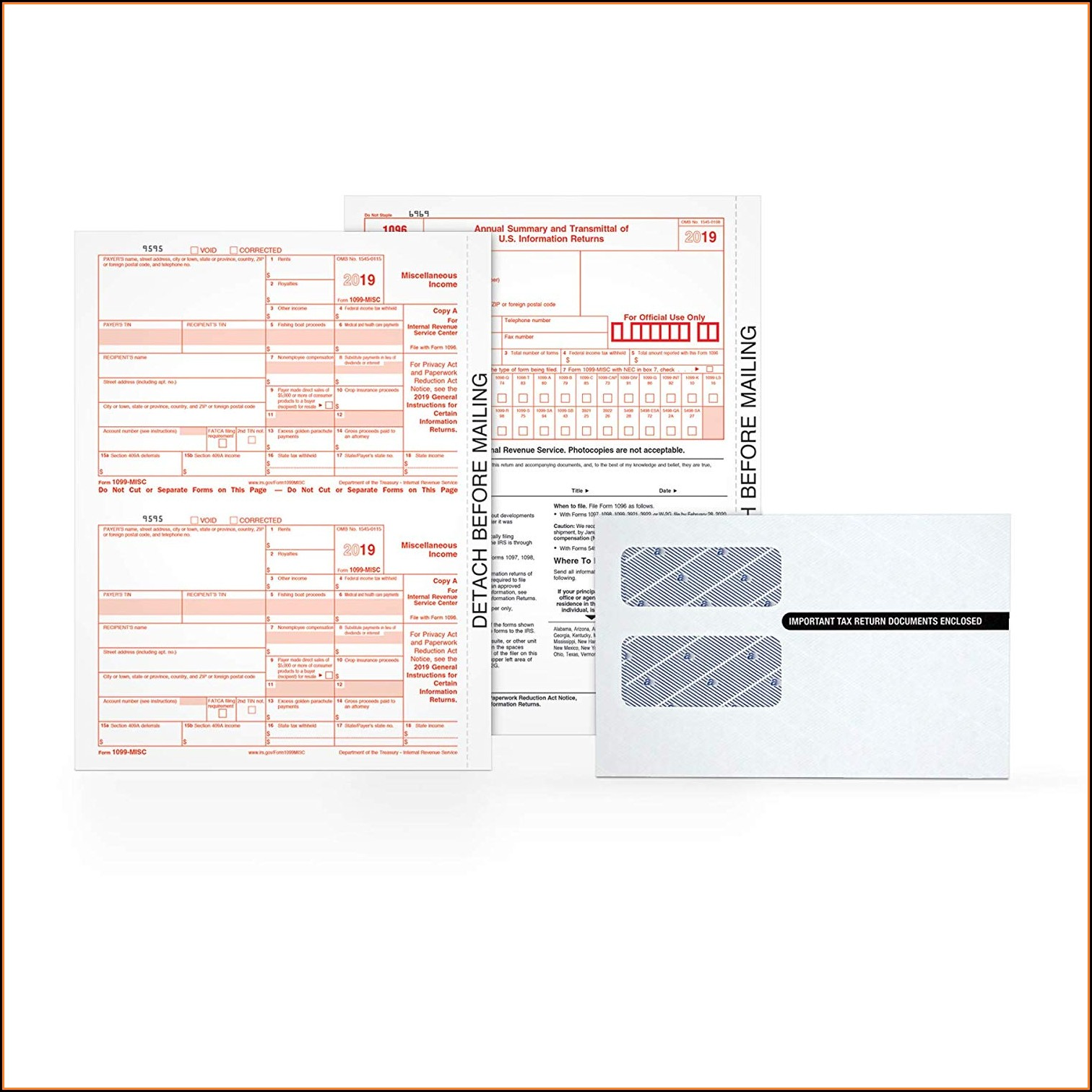 Where Can I Get 1099 Misc Forms For 2018