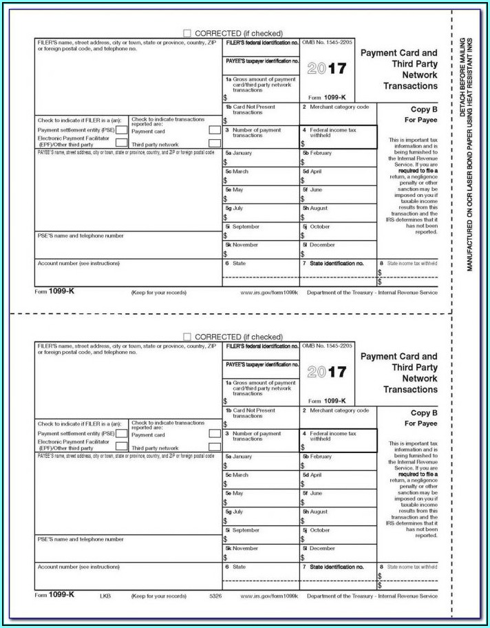 1099 Form Fillable 2018