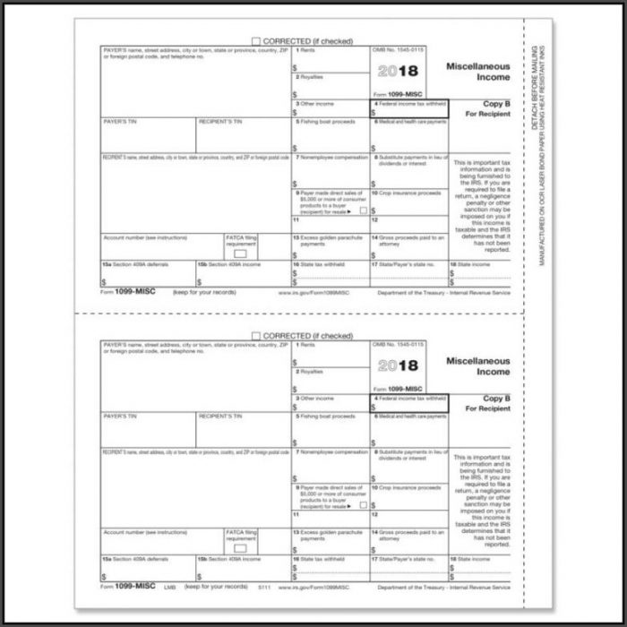 1099 Misc Template For Word