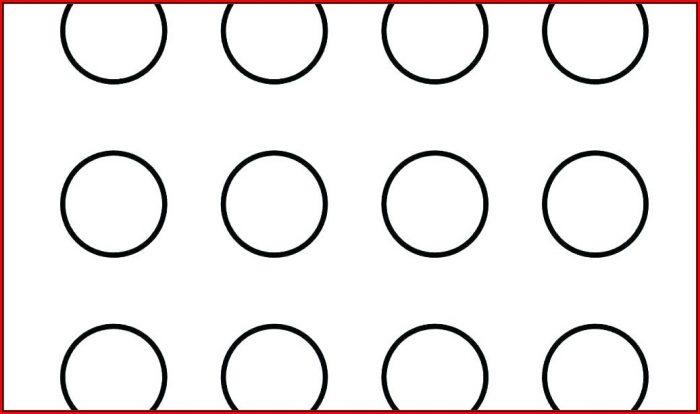2 Inch Circle Template Printable Free