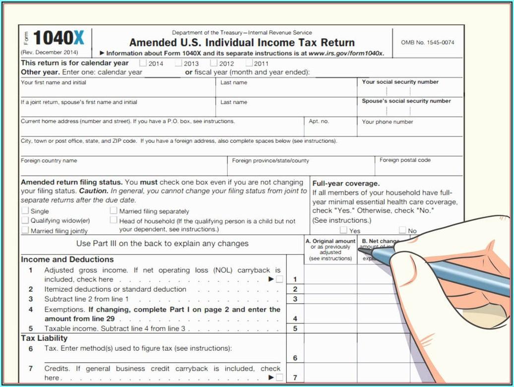 2014 Federal Tax Form 1040ez