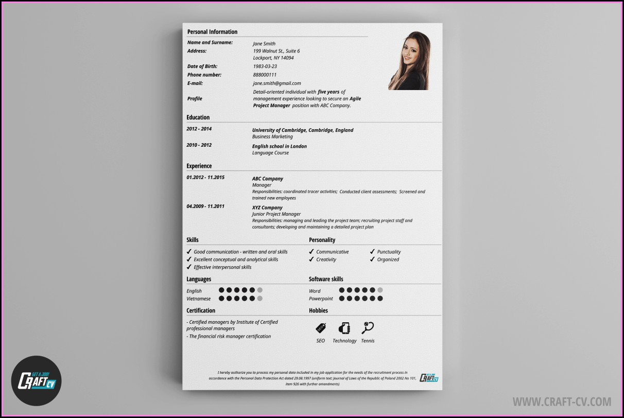 Absolutely Free Resume Maker