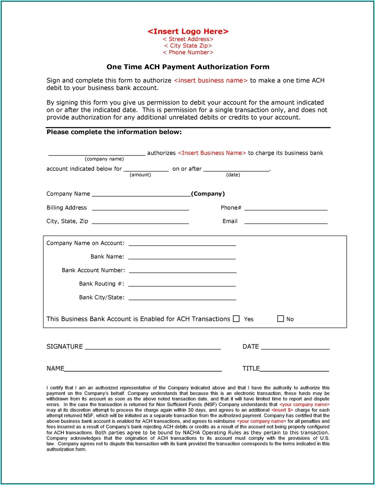 Ach Direct Deposit Form Wells Fargo