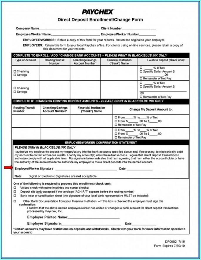 Aline Card Direct Deposit Form