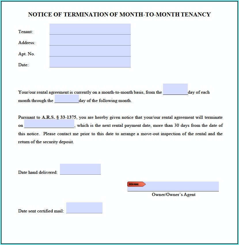 Arizona Landlord Tenant Eviction Forms