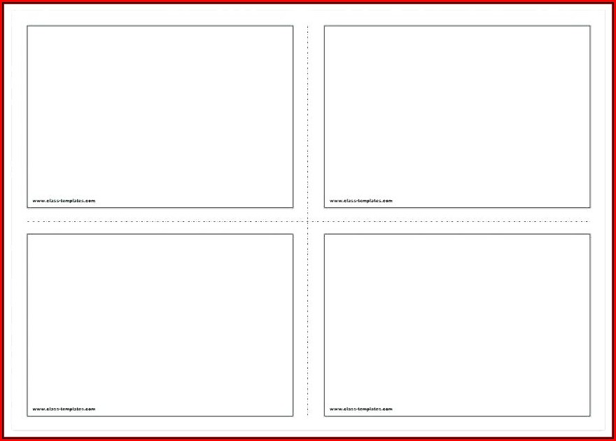 Avery Note Card Template 3379