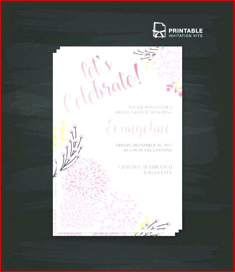Avery Printable Invitation Templates
