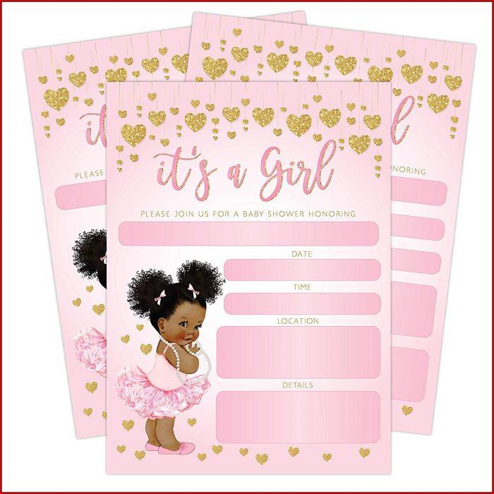 Baby Shower Invitations Girl