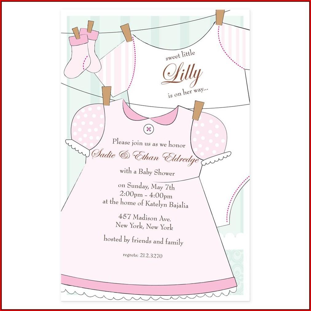 Baby Shower Invitations Girl Online