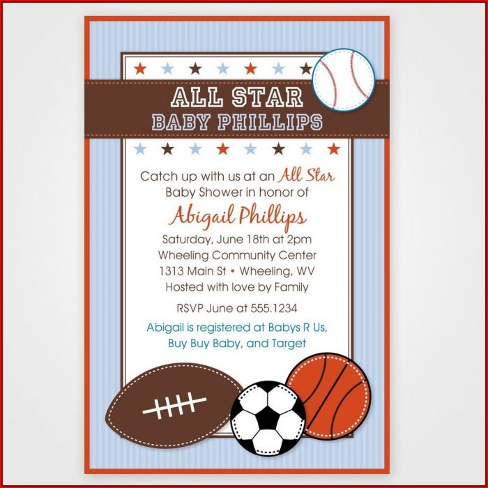 Baby Shower Invitations Templates Free For Word