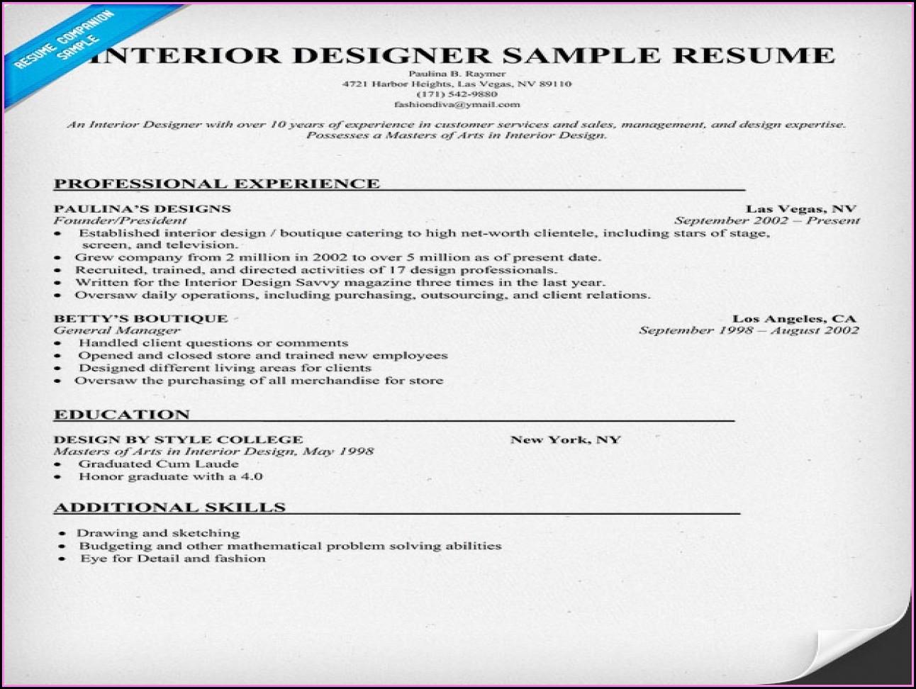 Best Free Online Resume Builder 2015