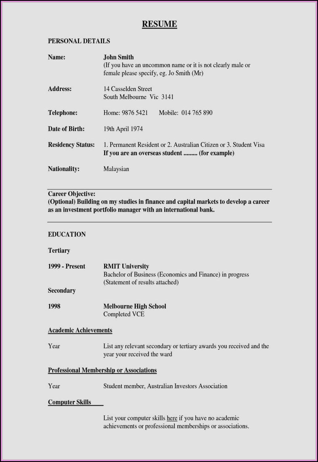 Best Resume Builder For Mac