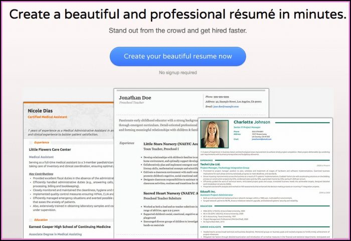 Best Resume Creation Sites